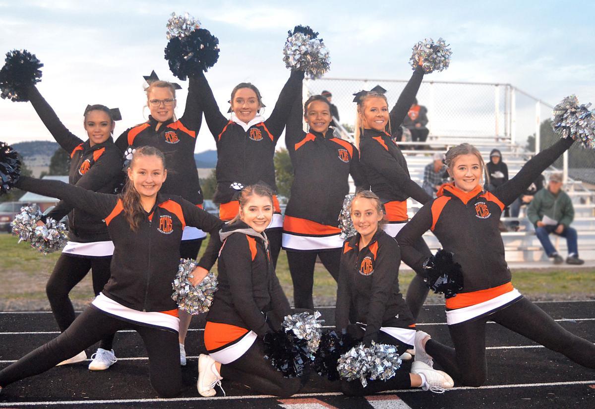 Prairie City Cheerleaders