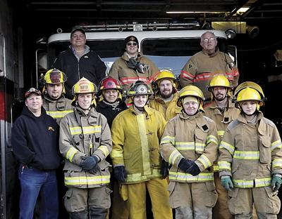 Area firefighters go to academy