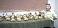 Kimberly artist features gourds