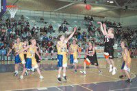 1A district teams light up nets