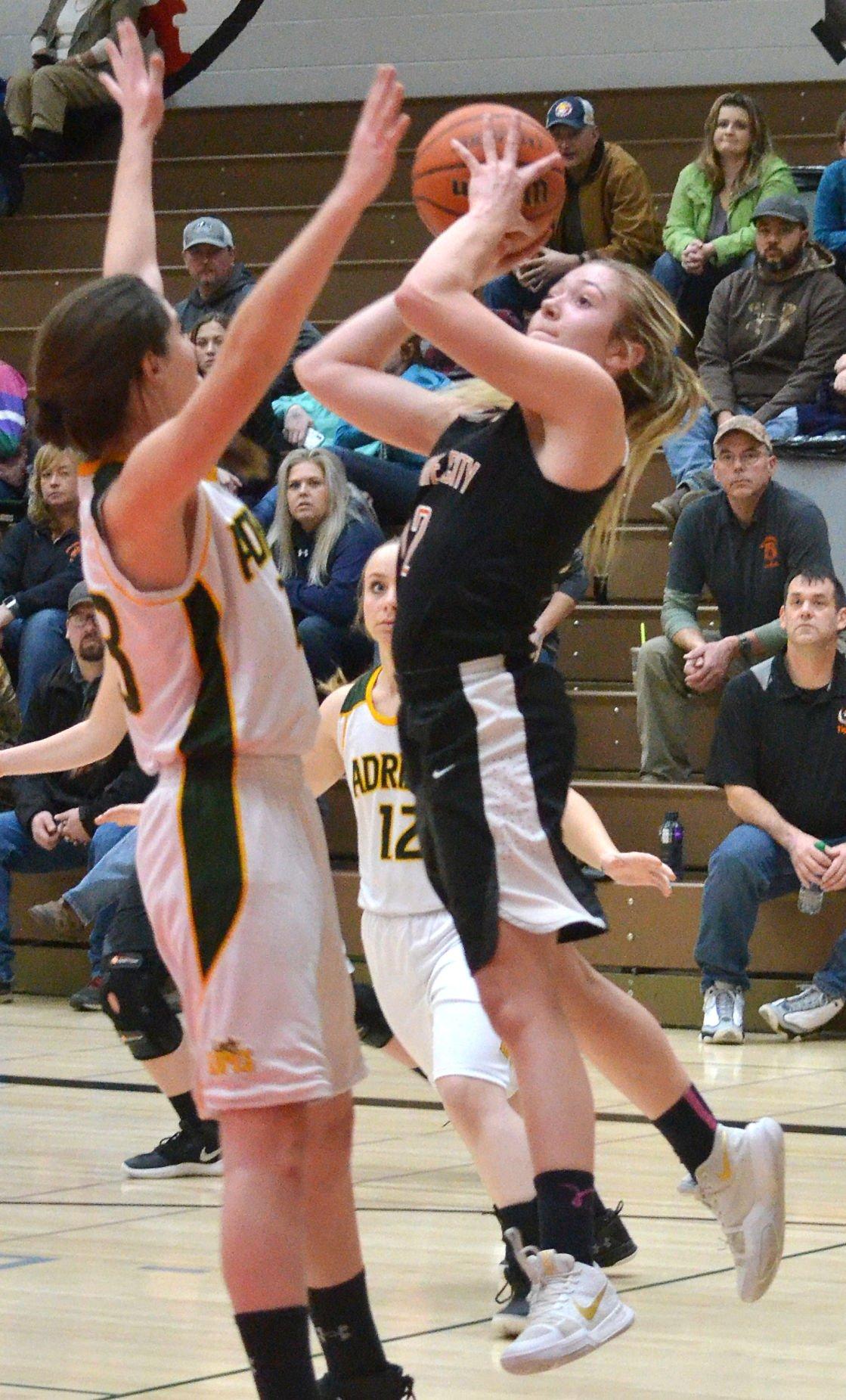 Prairie City girls basketball