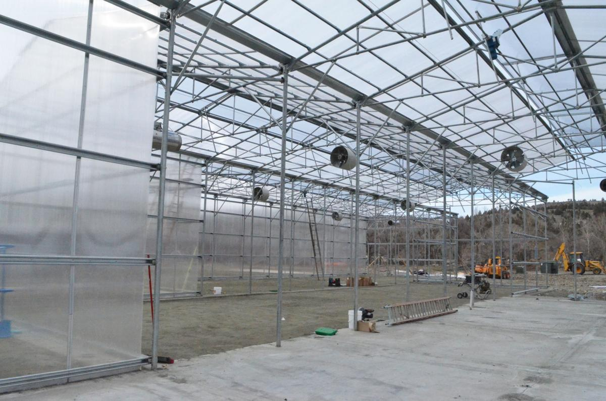 John Day greenhouses