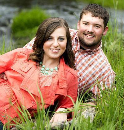 Shannon Croghan and Garret Gardner