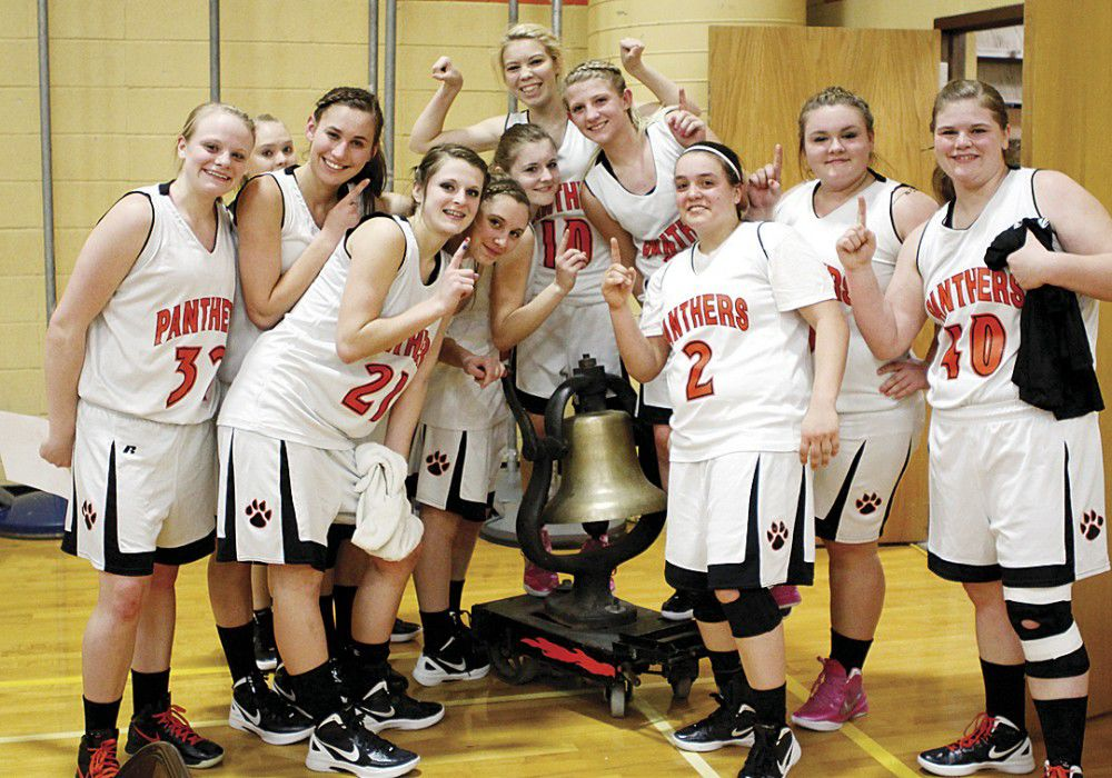 State playoff action: PC girls ring victory bell