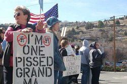Aryan Nations plan sparks protests in JD