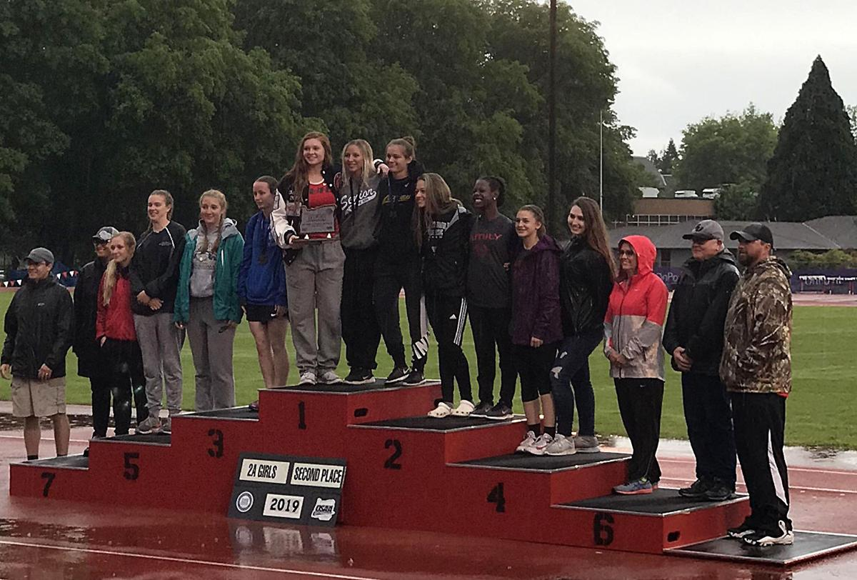 Grant Union Girls Track and Field Team