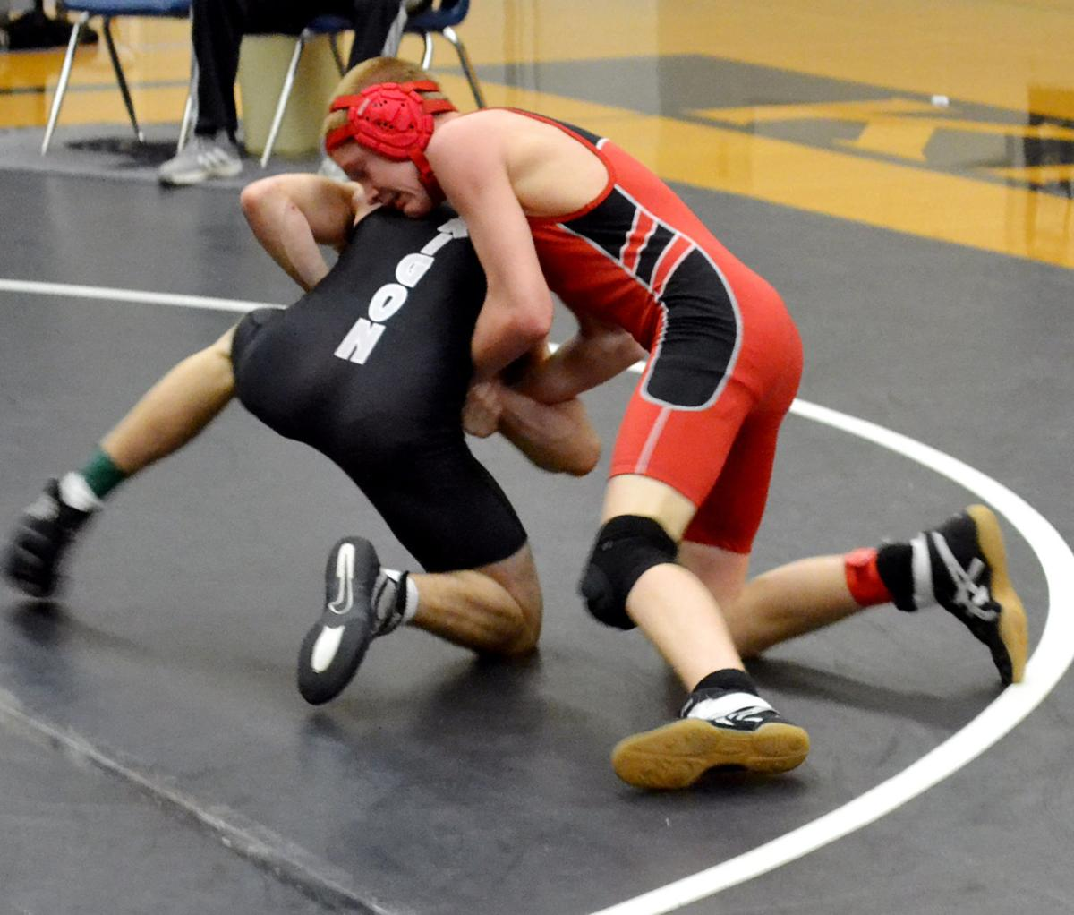 Grant Union wrestlers grapple well at opening meet