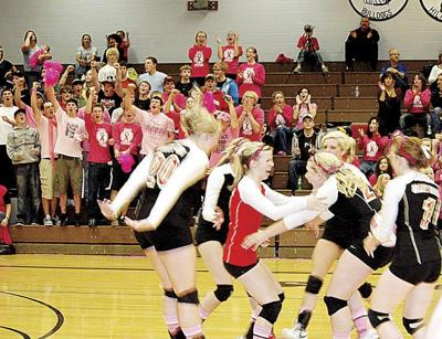 GU volleyball takes Nyssa, Pink win