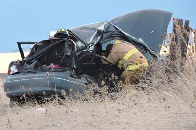 Fatal crash near Pilot Rock seriously injures two from Prairie City