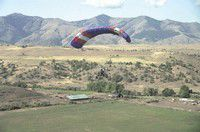 Powered parachute offers an up-in-the-air thrill