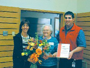 Bowling honored during blood drive