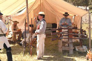 Rendezvous re-enactors celebrate history