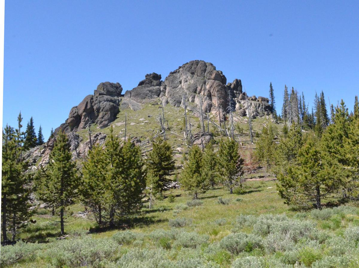 Monument Rock Wilderness offers solitude and views