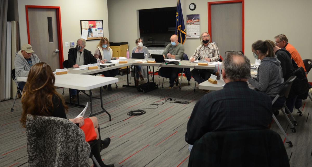 John Day City Council on Feb. 23