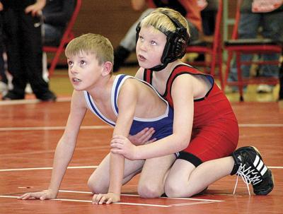 Young wrestlers keep learning