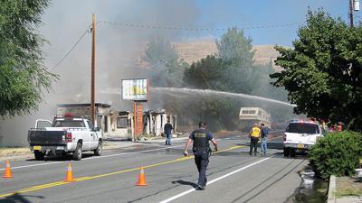 Investigators probe blast, fire in Mt Vernon