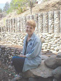 Grant County People: Rocks fill special niche for retaining wall