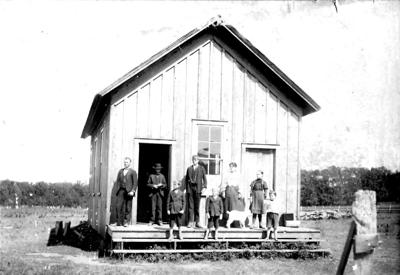 Strawberry – first school in the county