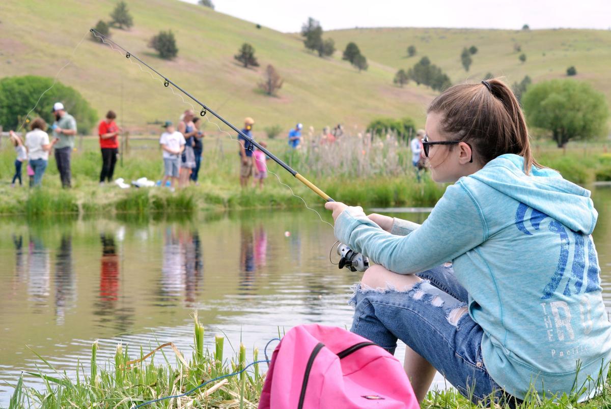 Fishin' for fun!