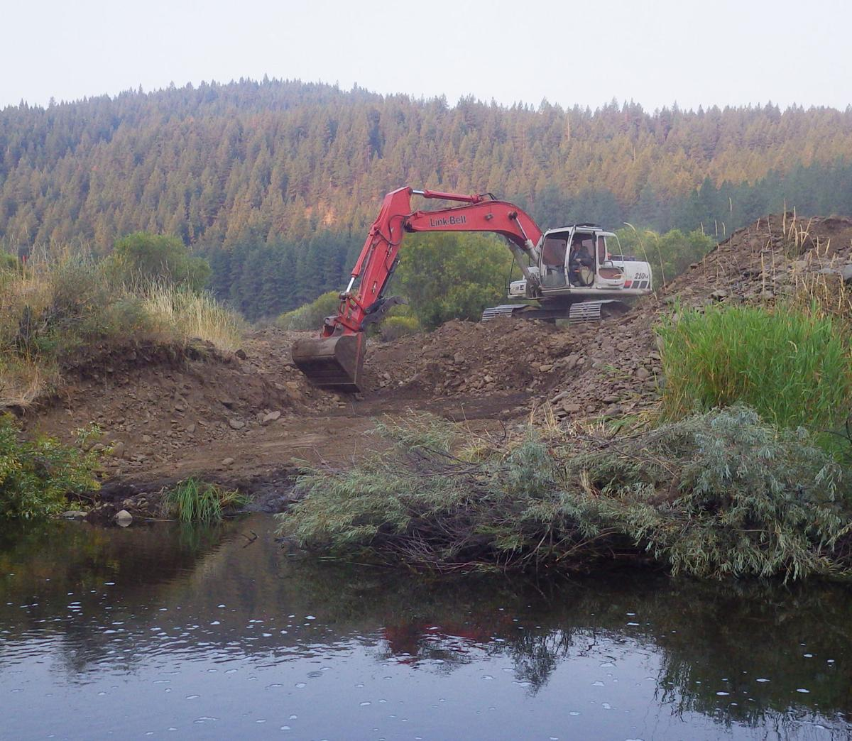 Middle Fork fish projects completed in 2018