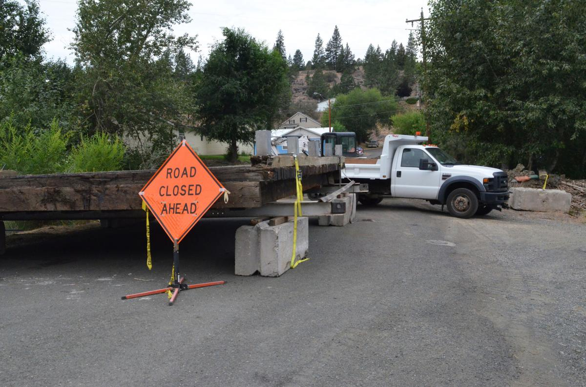 Inland Street Bridge repair