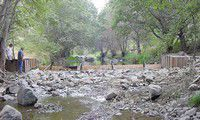 Rock Creek diversion completed
