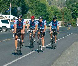 Pedaling for big change
