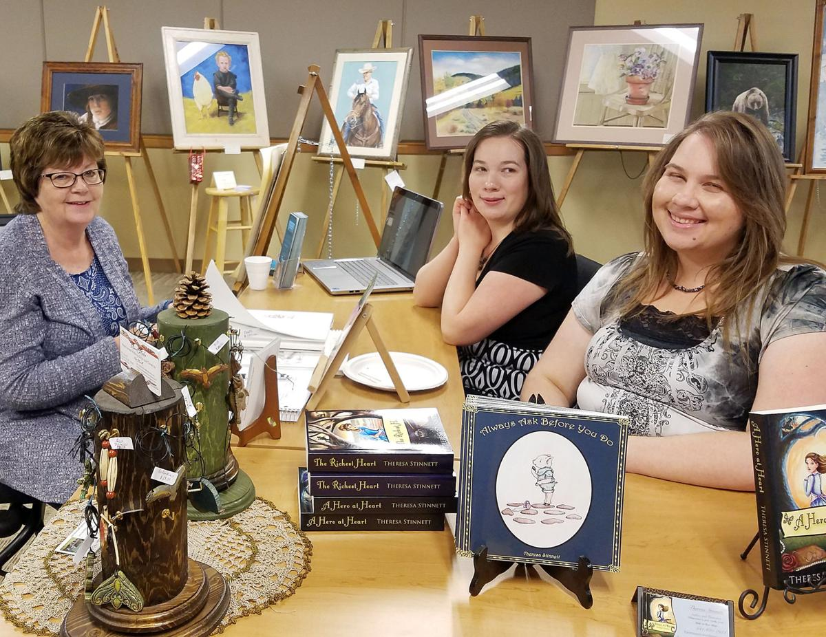 Local artists display talent
