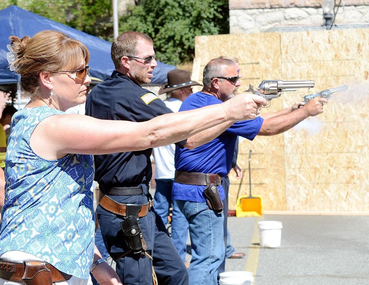 Competition heats up at fast draw