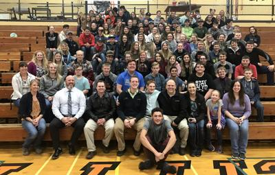 Christopher Duffley inspires local students