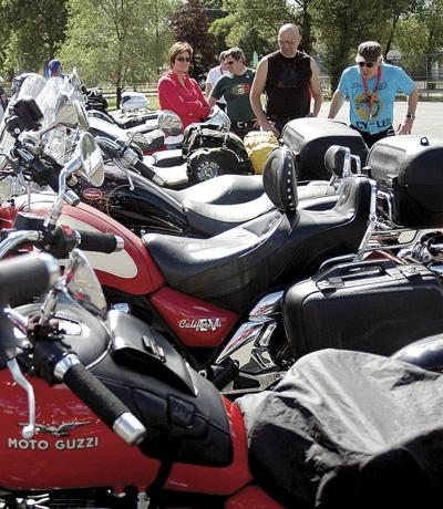 Moto Guzzi riders enjoy time in Grant County