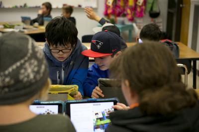 Ipads in classroom