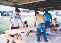 Wunz completes Eagle Scout project at complex