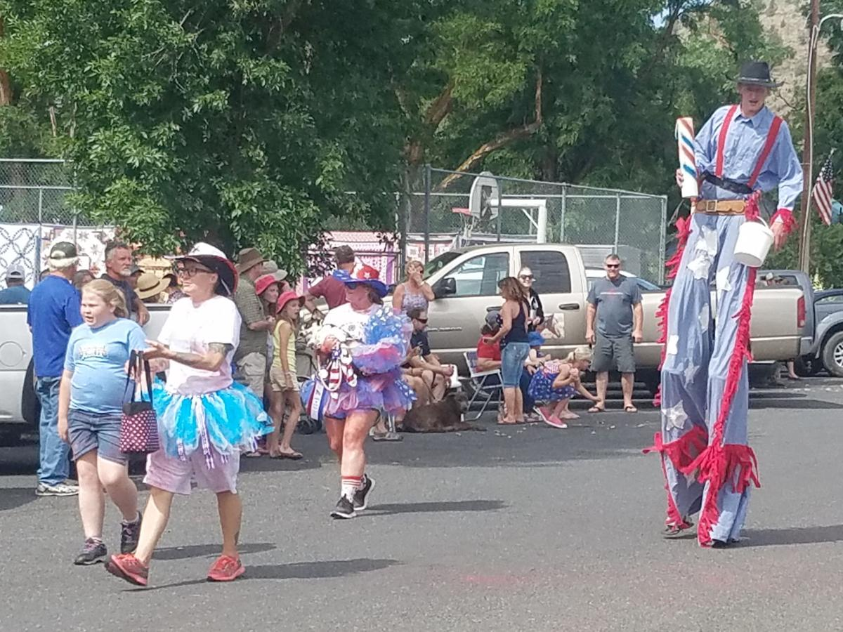 Celebrating the Fourth in Monument