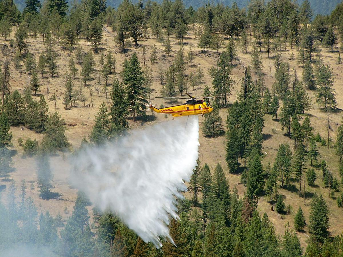 New storms bring rain to fires