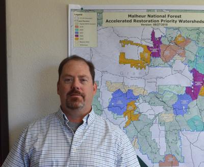 Malheur National Forest Supervisor Craig Trulock