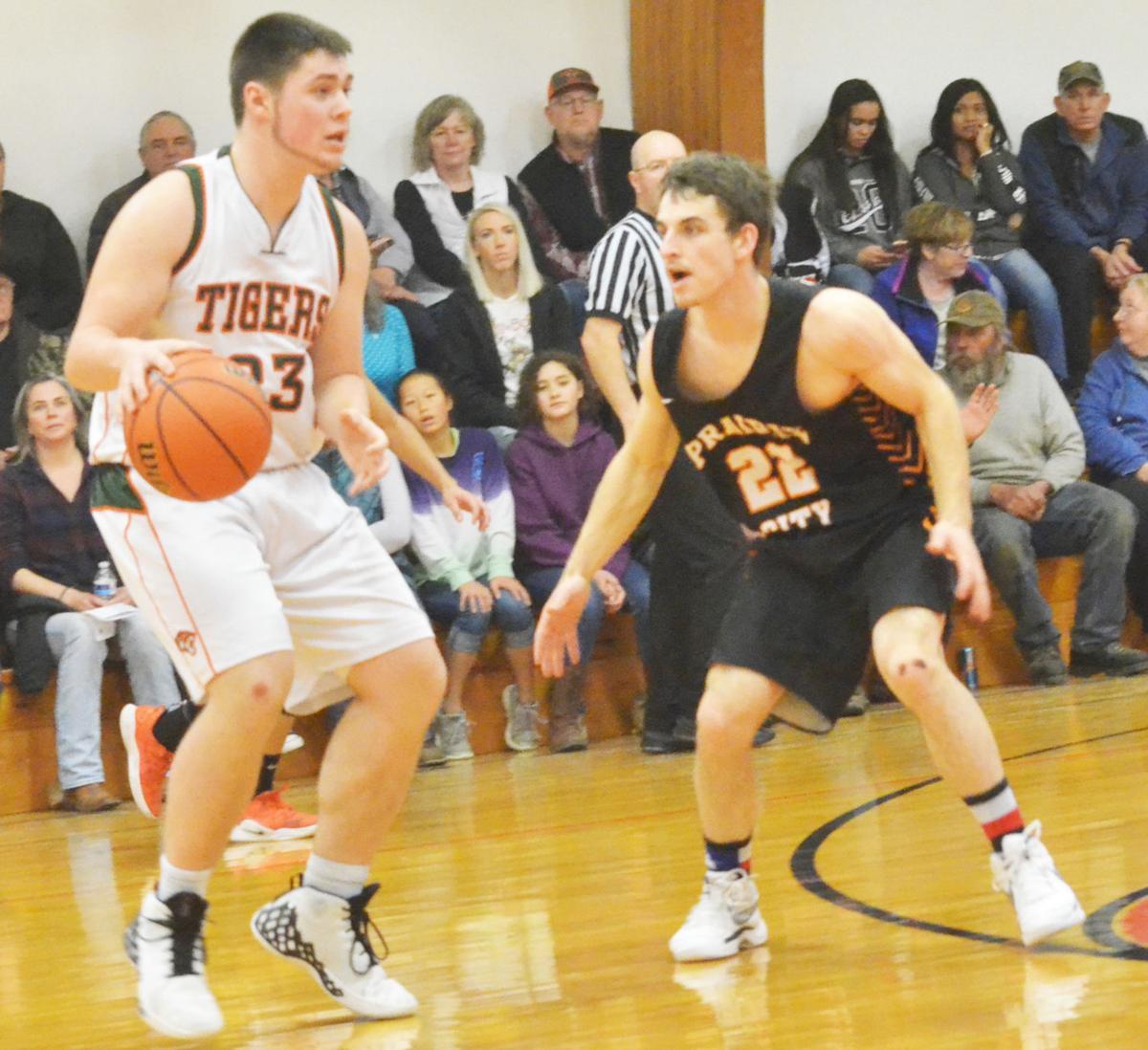 Prairie City boys basketball