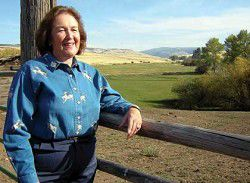 Family, love of ranching is woman's lifeblood