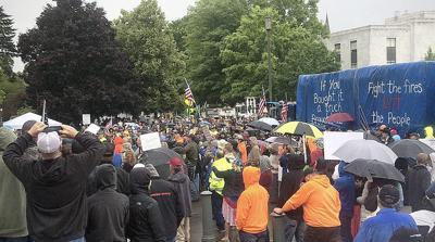 Logger rally