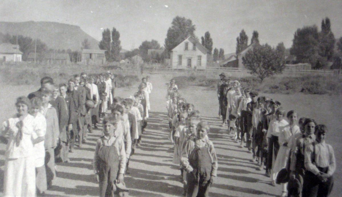 HISTORY: School days — in days gone by