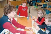Humbolt launches into three R's with kindergarten students