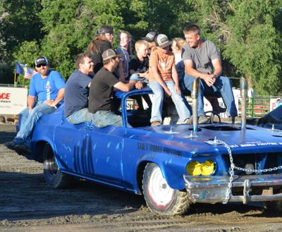 Saul takes first at demolition derby