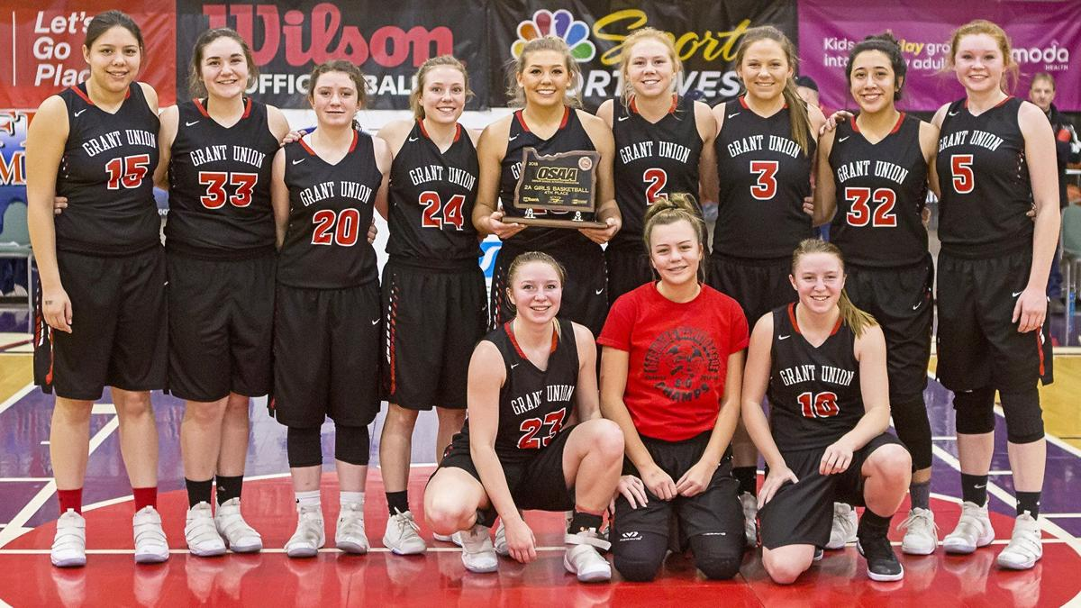 Grant Union girls earn fourth place in third trip to state