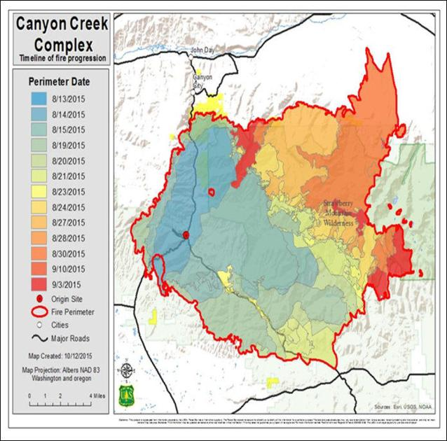 Fs Releases New Report About Canyon Creek Complex News