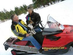 Snowmobilers ready to share trails