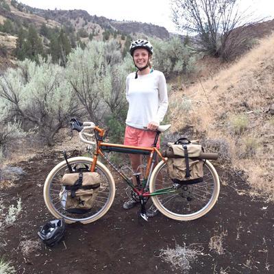 7 Wonders Painted Hills bicycle found