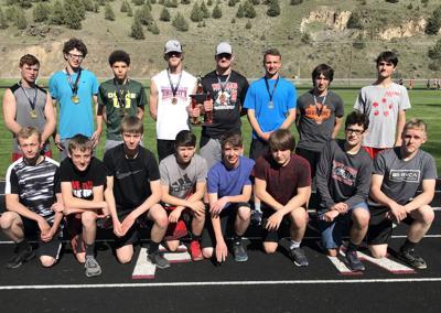 Grant Union boys track team