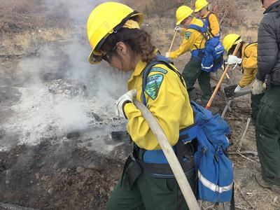 Wildfire boot camp for women