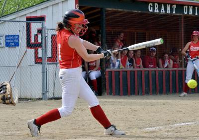 Grant Union softball sweeps Enterprise