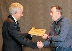 ODF honors O'Rorke for logging expertise
